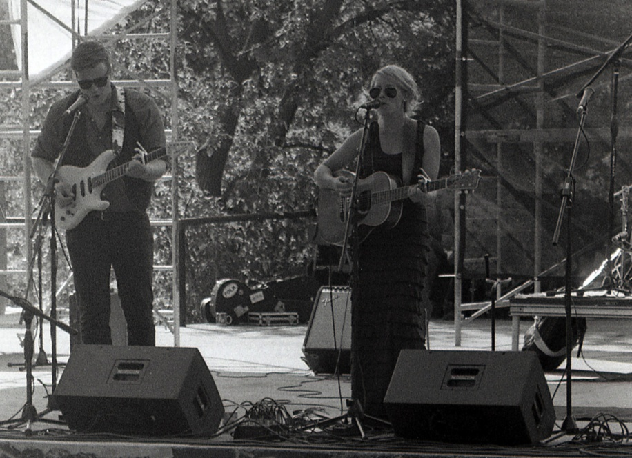 Melissa Payne at the Peterborough Folk Festival