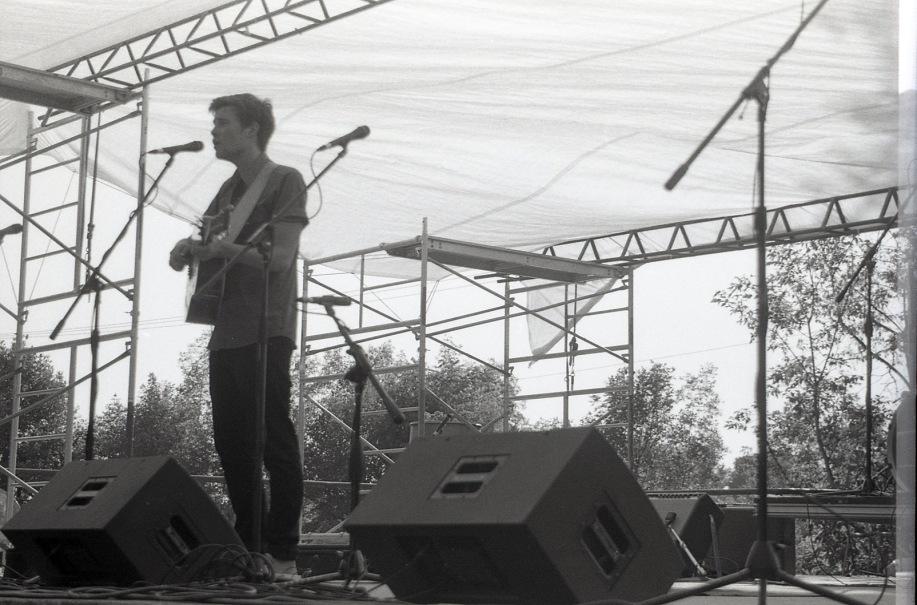 Jos. Fortin at the Peterborough Folk Festival